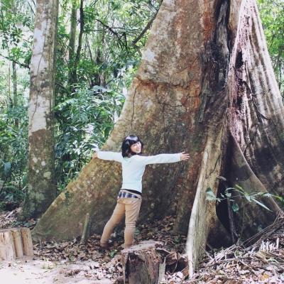 ペルーで熱帯雨林保護 園田遥
